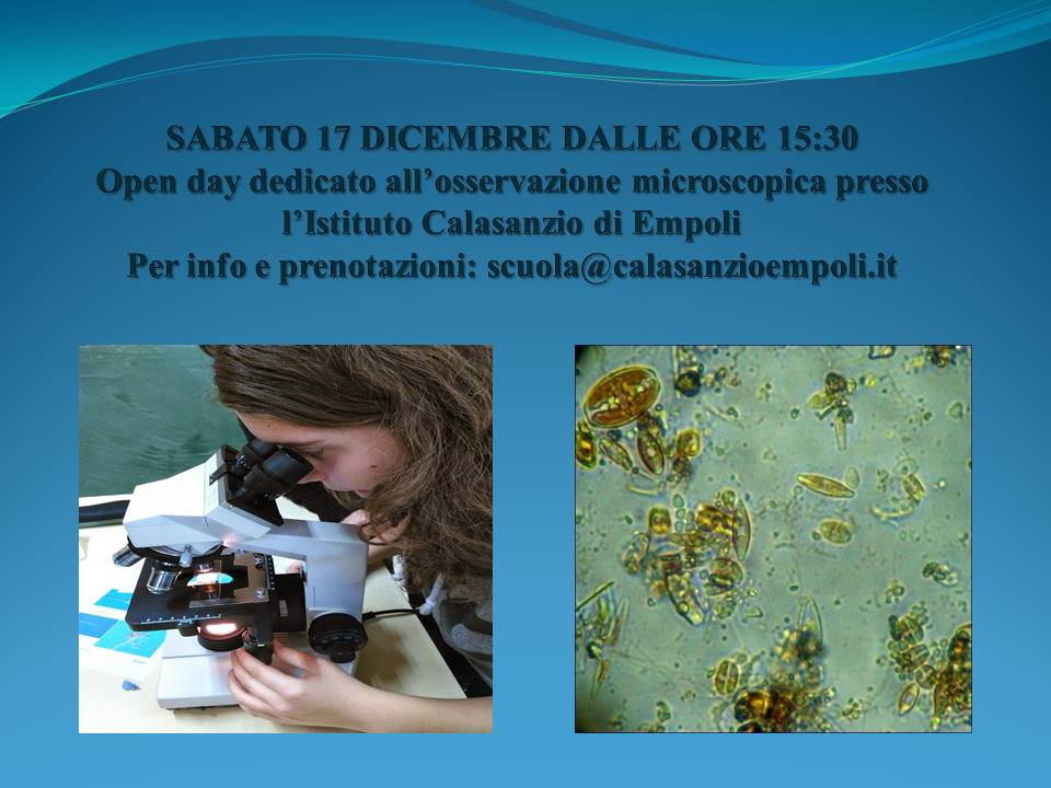 Open day 17 dic