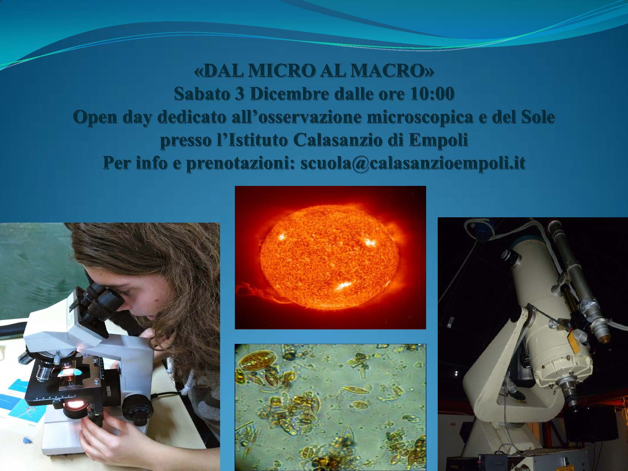 Open days Pagina 1